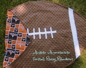Team Spirit Football Baby Blanket