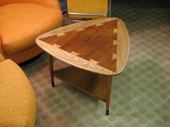 Mid Century Modern Lane Triangular End Table