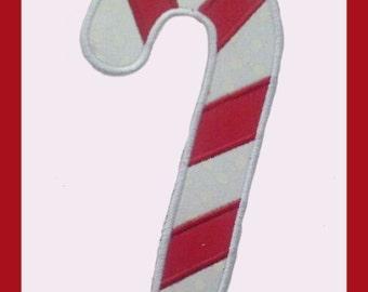 Candy Cane Applique design