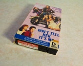 Don't Tell Her It's Me VHS video - rare & OOP (1990) - The Boyfriend School