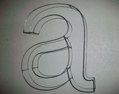 Wire Letters Helvetica Font