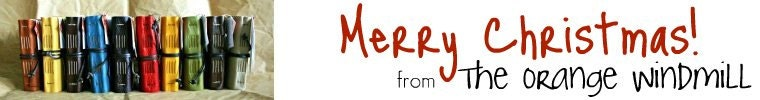 Holiday Greeting banner from The Orange Windmill