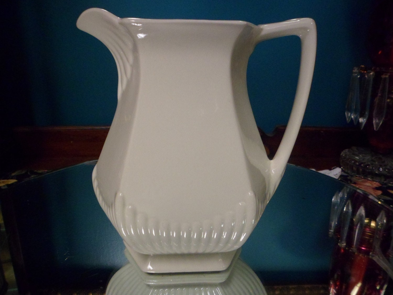 Real English Ironstone Wm Adams And Sons By Cobwebconsignment