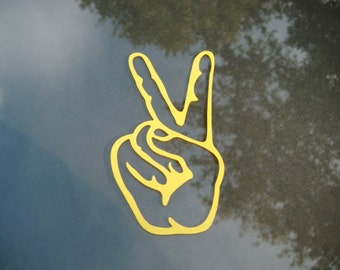 Peace Decal - Choose any color