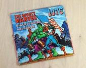 Marvel Comics Vintage Bicentennial Calendar - 1976 Super Heroes - Avengers - Spiderman