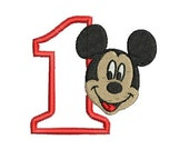 Mickey Mouse Embroidery, Disney Embroidery (190) Instant Download