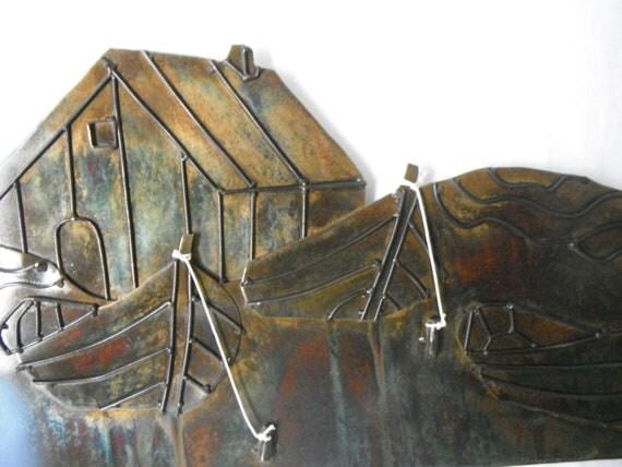 boat  house scene