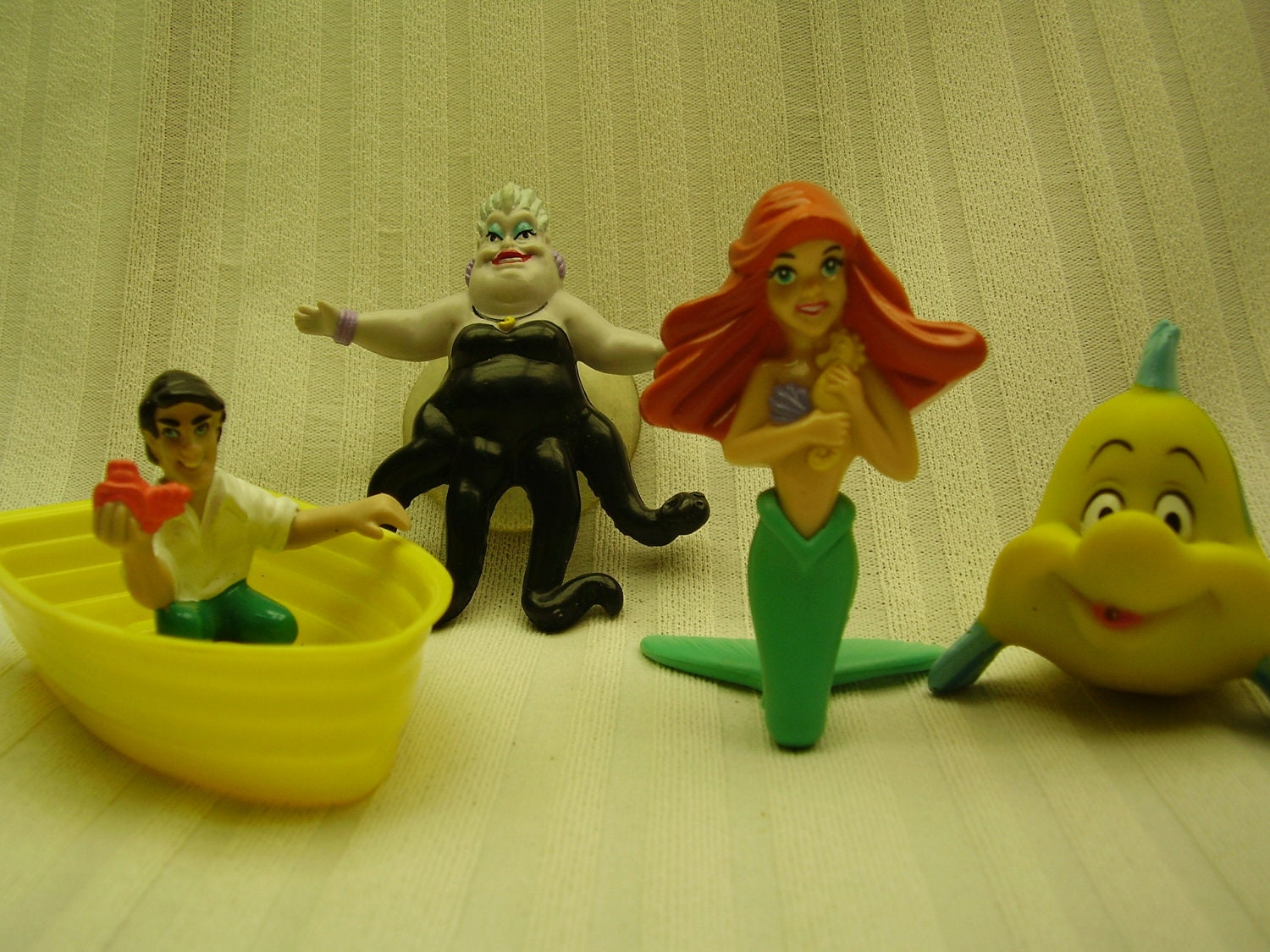 meal little happy toys mcdonalds mermaid Meal Happy Mermaid McDonalds complete Disney set 1989 Little