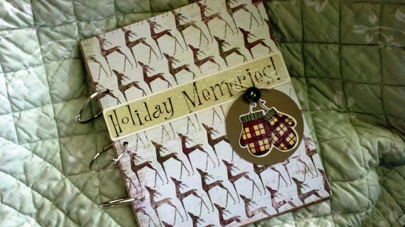 Holiday Memories Store Friends Christmas Greeting Cards in This Christmas Greeting Card Holder/Album