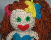 Crocheted Red Headed Mermaid