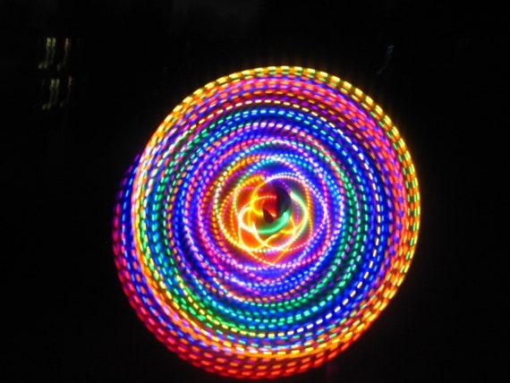 FREE SHIPPING - Strobing LED Hula Hoop - The Fusion