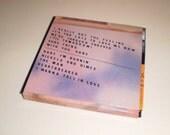 Dolly Parton Vinyl Record Coaster Set