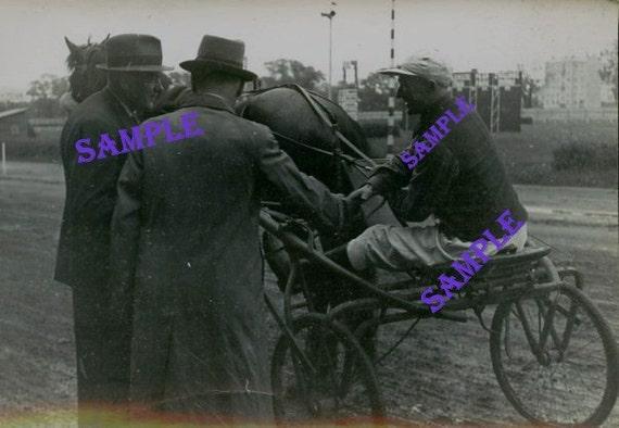 Digital Download-The Jockey -Vintage Photo