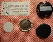 DESTASHING stethoscope ID tag kits