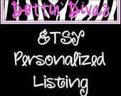 Personalized Listing for Heather