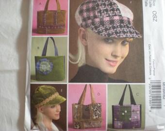 Mccalls 5199 Fashion Accessories  Totes and caps