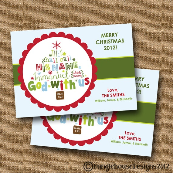 Beau Bible Quotes For Christmas Cards. QuotesGram