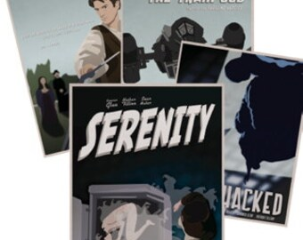 Get the whole set of Firefly episode posters