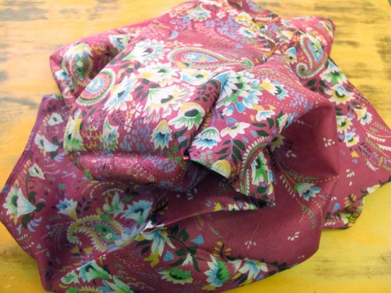 Silk Scarf, Square Scarf, Silk Fabrics