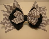 Grosgrain Ribbon/ Boutique Hair Bow/Girls Hair Bow/Small Hair Bow