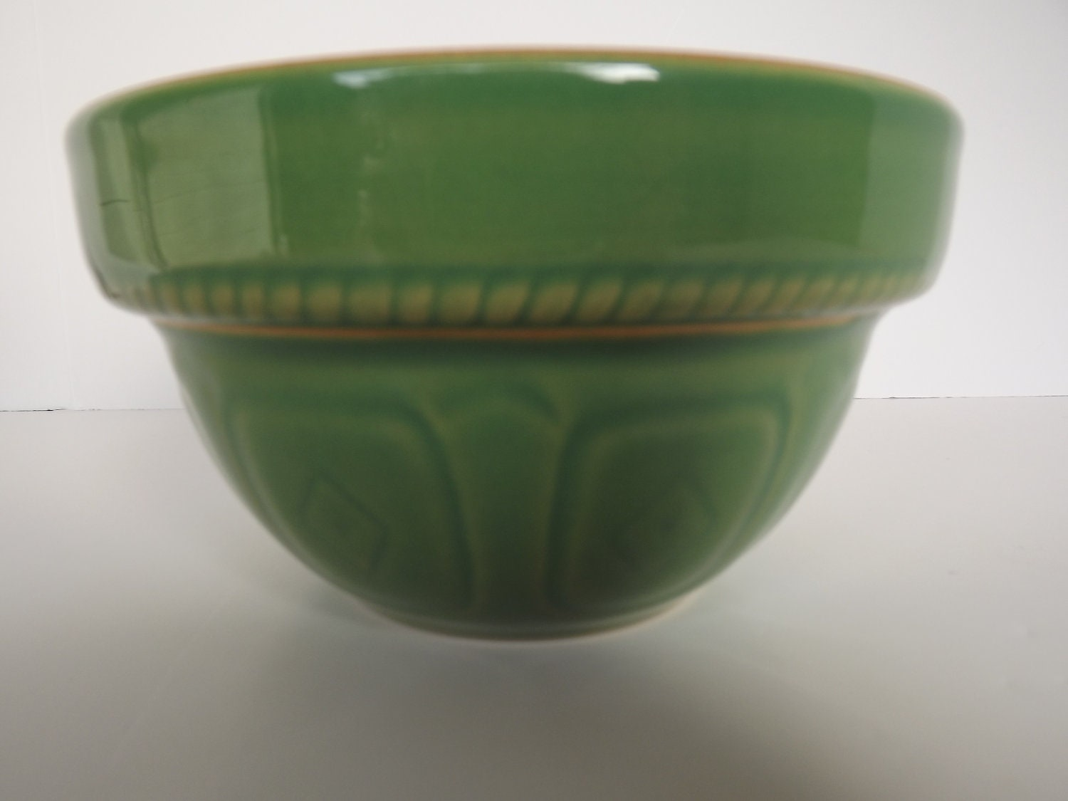 Vintage Over And Back Yellow Ware Green By Rt9njvintagefun On Etsy