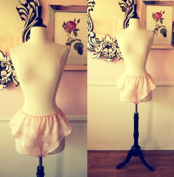 40% off with Coupon Code BRIDES:Victoria's Secret- Peach Satin Tap Pants- Medium