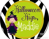 Personalized Halloween Treat Bag Labels or Stickers