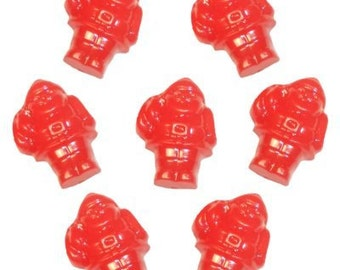 24 Santa Claus Beads