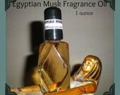 Egyptian Musk Fragrance Body Oil 1 ounce (oz)