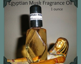 Egyptian Musk Fragrance Body Oil 1 ounce (oz)
