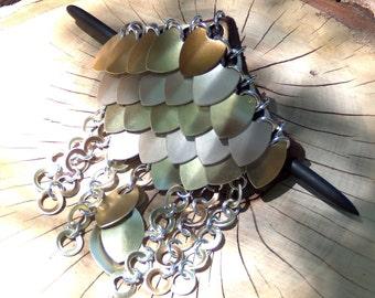 Shield Maiden , ponytail holder Custom colors