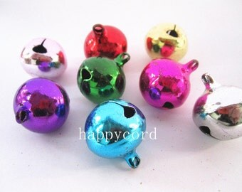 10pcs Mixed color (copper) Tinkle Bell  20mm