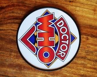 Dr Who Classic Logo Coaster