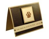 Dog Sympathy Card, Pet Sympathy Card, Thank you Petsitting
