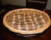 pet bed, basket bed, small dog bed, cat bed