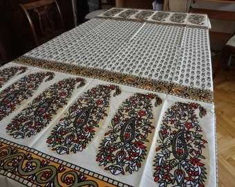 Table cloth with traditional Turkish  design- small rectangle