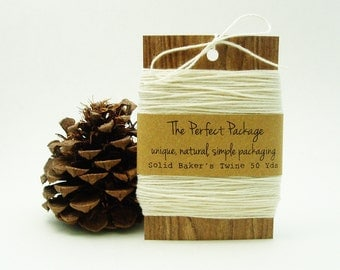Bakers Twine Solid Color Natural Cotton Soft 50 Yards
