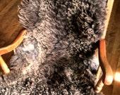 Chocolate Brown Coopworth Sheepskin
