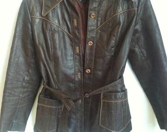 Hippie jackets, Jackets,Coats,VINTAGE pleather jacket, hippie, boho