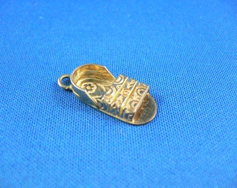 FLIP FLOP CHARM - Vintage charm for charm bracelet