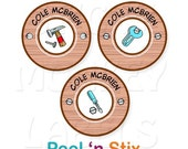 Stick On Clothing Labels, Tools