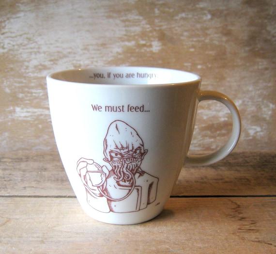 Ood Mug Doctor Who We Must Feed