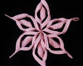 Crochet 3d Christmas Decoration and Snowflake Centrepiece INSTANT DOWNLOAD PDF from Thomasina Cummings Designs