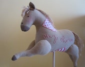 RESERVED TO IVÁN: My Horse (Tilda) Hand Sewed