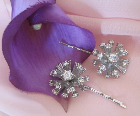 Bridal Accessory Rhinestone Hair Pins Bobby pin Set  for Bride, Mother of the Bride, Bridesmaids, Prom