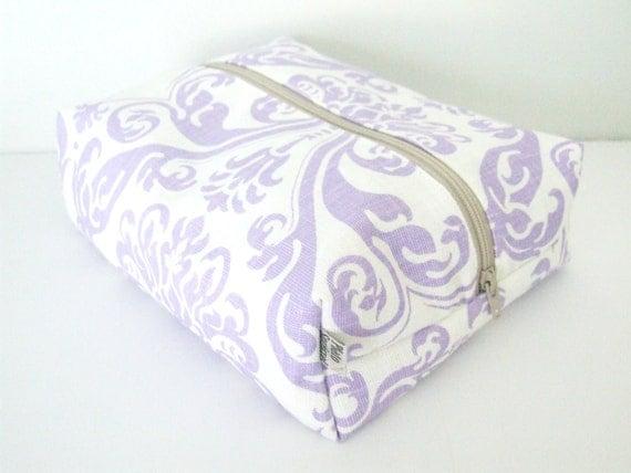 Make up Bag  - Cosmetic Pouch - Diaper Bag -  Lunch Bag - Wet Bag -Waterproof Bag
