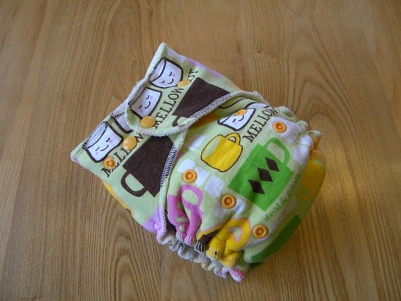 Mellow Out One-Size Fitted Diaper