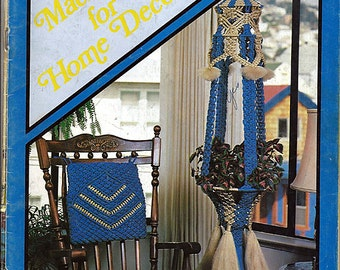 Macrame For Home Decor II Macrame Pattern Book 907