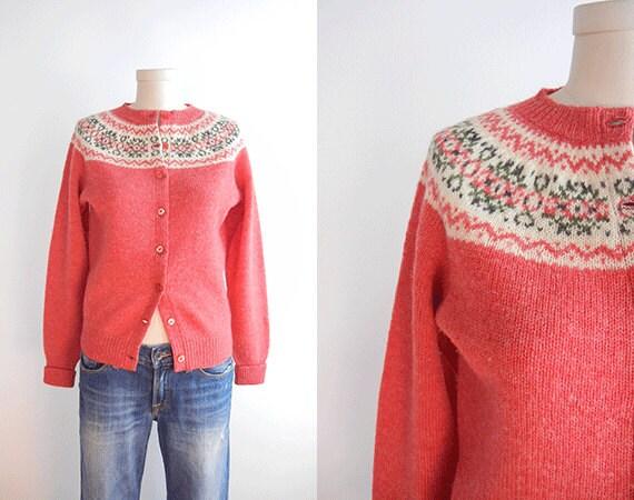 Shetland Isle Cardigan Sweaters - Sweater Grey