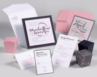 Wedding Invitations - PHOEBE